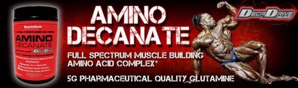 amino decanate 10:1:! bcaa ramificati arricchiti con altri essenziali e con decadrive delivery