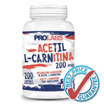 Acetyl L-Carnitina 200mg 200cps
