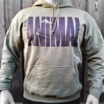 Animal Hooded Sweater Military Green