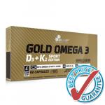 GOLD Omega-3 D3+K2 60cps