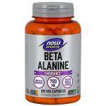 Beta Alanina 750mg 120cps now foods
