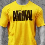 Animal Iconic T-Shirt Gialla