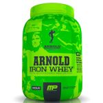 arnold iron whey 680g musclepharm iron series
