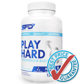 Play Hard Testosterone Booster 120tab