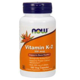 Vitamin K2 100mcg 100cps