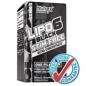 Lipo-6 Black UC Stim-Free 60cps