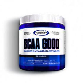 Bcaa 6000 180cps gaspari nutrition