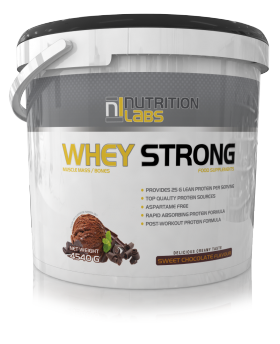 Whey Strong 4,54kg nutrition labs
