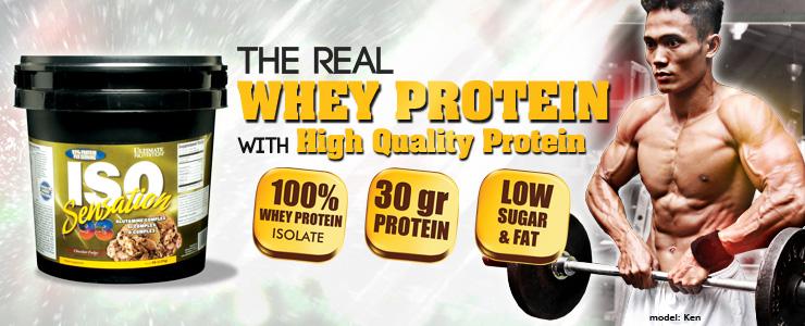 iso sensation 93 integratore di siero proteine isolate a freddo per tripla filtrazione, ideale subito dopo i pesi
