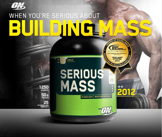 Serious Mass è il gainer completo che nulla farà mancare al tuo metabolismo, crescita assicurata con questo prodotto